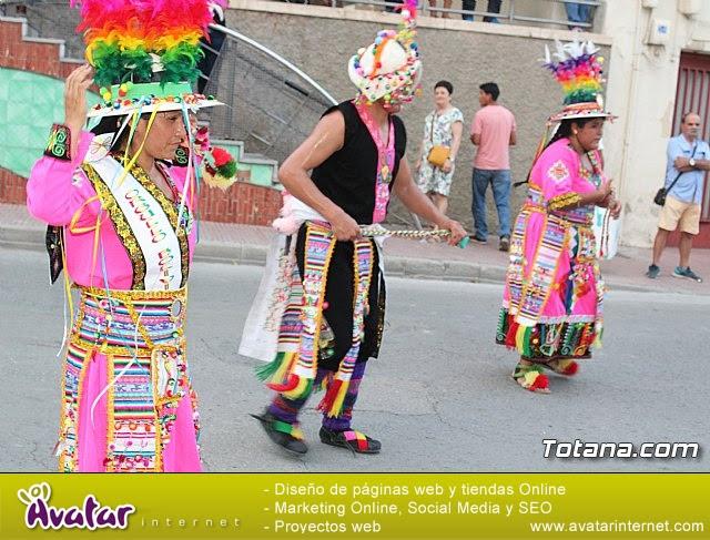 Desfile de baile. Fiestas en honor a la Virgen de la Urkupiña (Bolivia) - 21