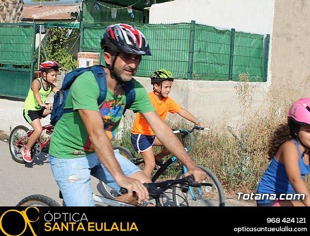 Marcha ciclista. Fiestas de la Costera 2018 - 5