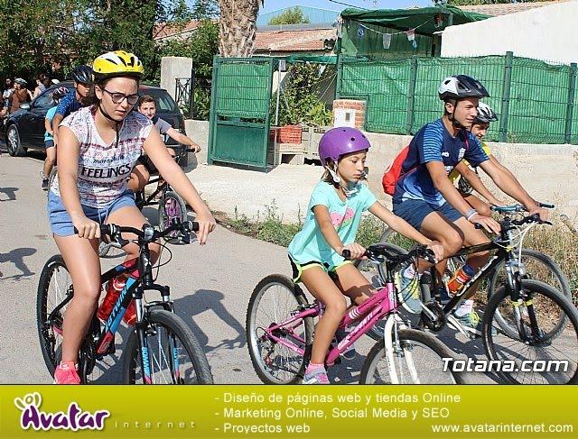 Marcha ciclista. Fiestas de la Costera 2018 - 12
