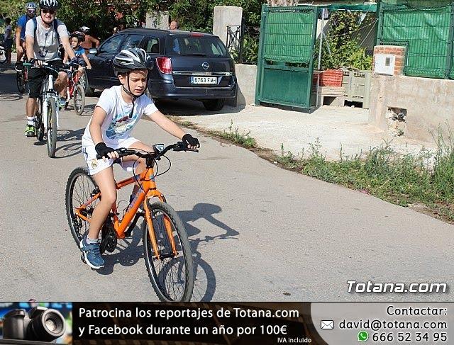 Marcha ciclista. Fiestas de la Costera 2018 - 20