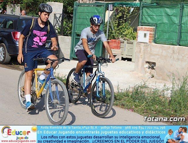 Marcha ciclista. Fiestas de la Costera 2018 - 25