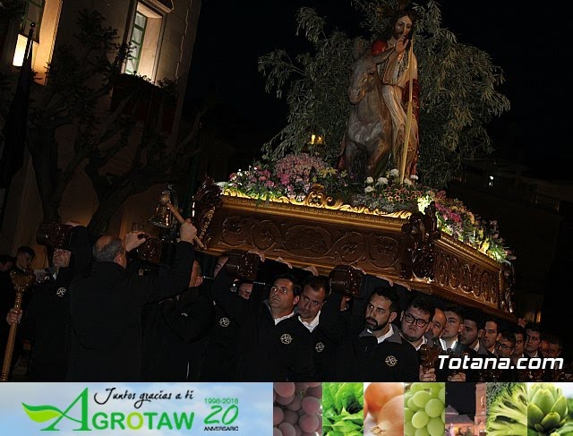 Traslado burrica - Semana Santa 2019 - 32