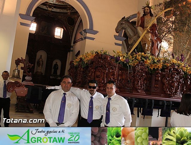 Domingo de Ramos (Iglesia Santiago). Semana Santa 2013 - 36