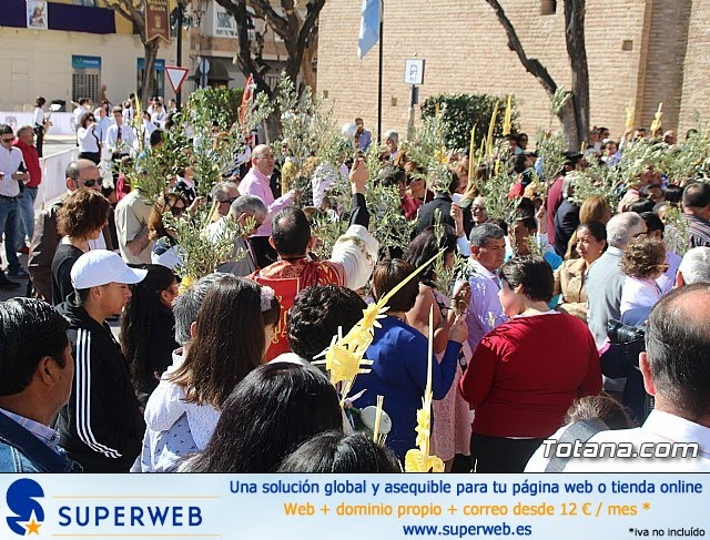 Domingo de Ramos - Procesión Iglesia de Santiago - Semana Santa de Totana 2019 - 14
