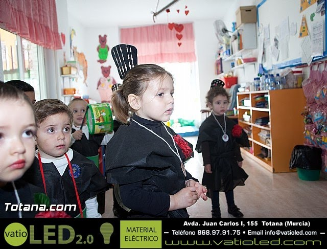 Procesión infantil Escuela Infantil Clara Campoamor - Semana Santa 2015 - 16