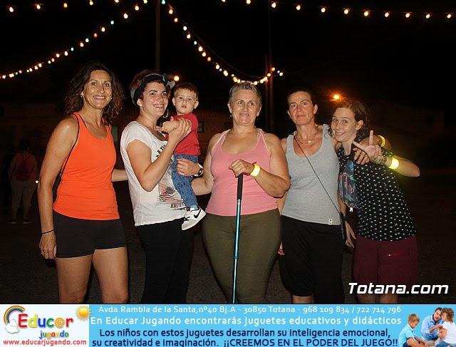 Ruta Senderista Nocturna. Fiestas de El Paretón-Cantareros 2018 - 20