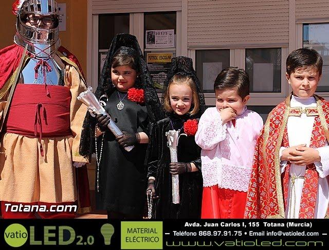 Procesión infantil Colegio Santa Eulalia - Semana Santa 2013 - 27