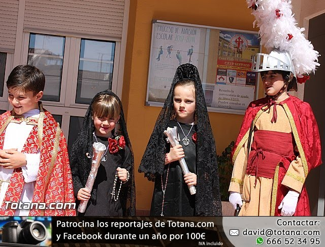 Procesión infantil Colegio Santa Eulalia - Semana Santa 2013 - 28
