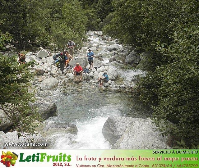 Viaje a los Pirineos, Club Senderista Totana - Verano 2013 - 14