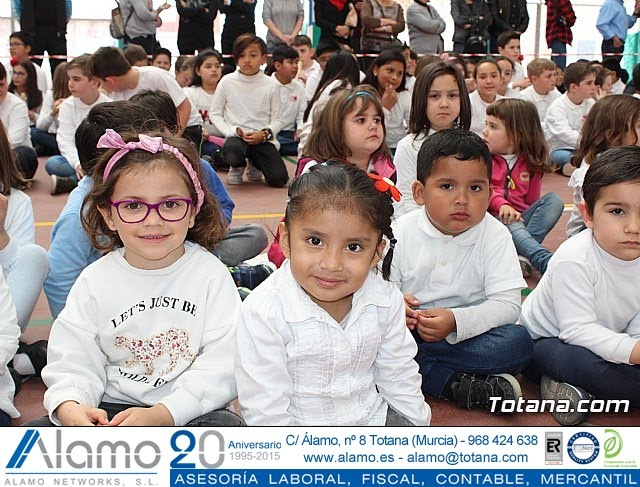Procesión Infantil - Colegio Santa Eulalia. Semana Santa 2019 - 8