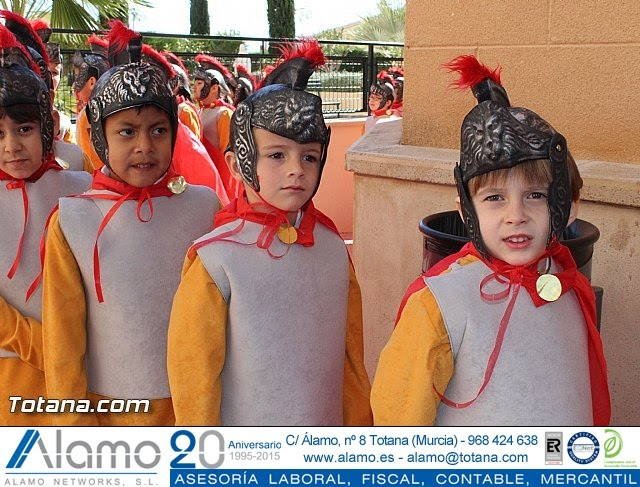 Procesión infantil Colegio La Milagrosa - Semana Santa 2015 - 34