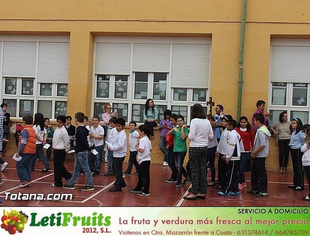 Procesión infantil. Colegio Santa Eulalia - Semana Santa 2014 - 3