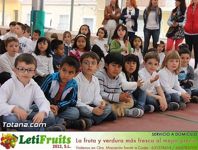 Procesión infantil. Colegio Santa Eulalia - Semana Santa 2014 - 9
