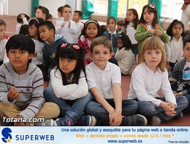 Procesión infantil. Colegio Santa Eulalia - Semana Santa 2014 - 11