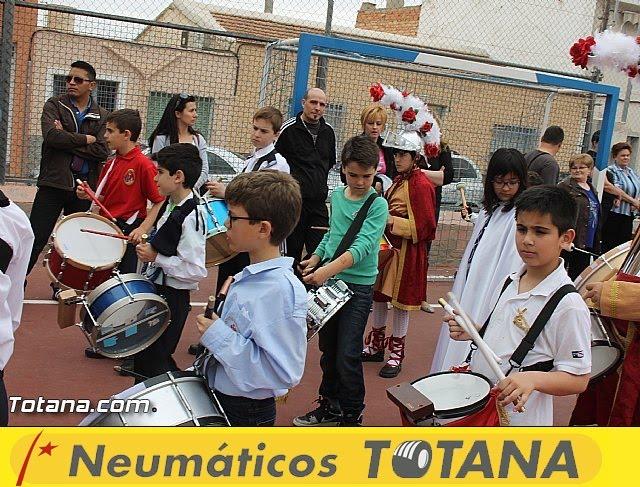 Procesión infantil. Colegio Santa Eulalia - Semana Santa 2014 - 23