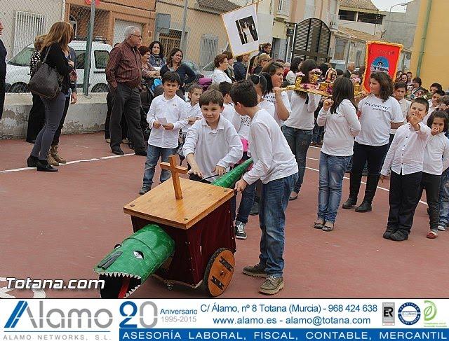 Procesión infantil. Colegio Santa Eulalia - Semana Santa 2014 - 26