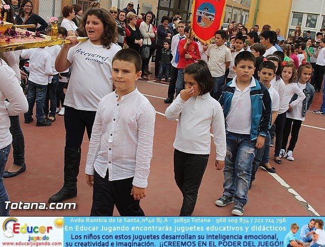 Procesión infantil. Colegio Santa Eulalia - Semana Santa 2014 - 31