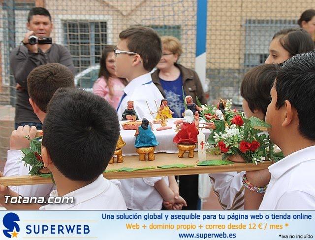 Procesión infantil. Colegio Santa Eulalia - Semana Santa 2014 - 39