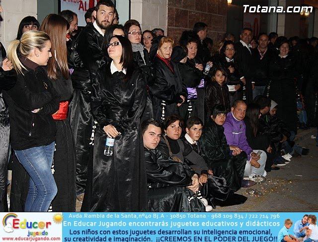 Traslado de los tronos a sus sedes. Viernes Santo 2012 - 12
