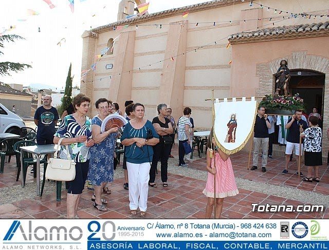 Procesión San Roque 2018 y reparto de guitarras - 15