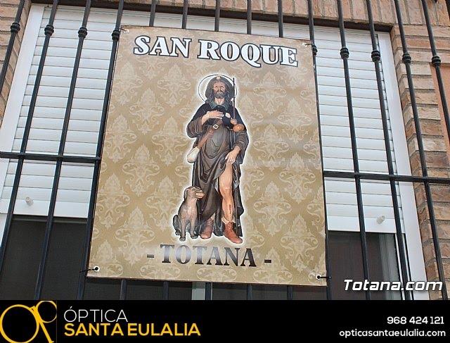 Procesión San Roque 2018 y reparto de guitarras - 23