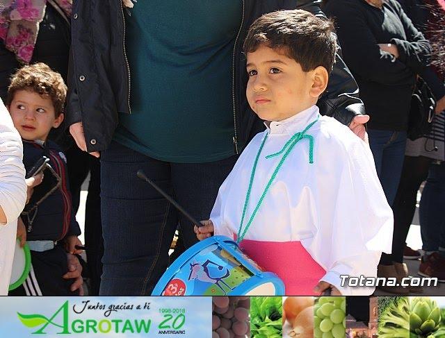 Procesión infantil Semana Santa 2018 - Colegio Santiago - 35