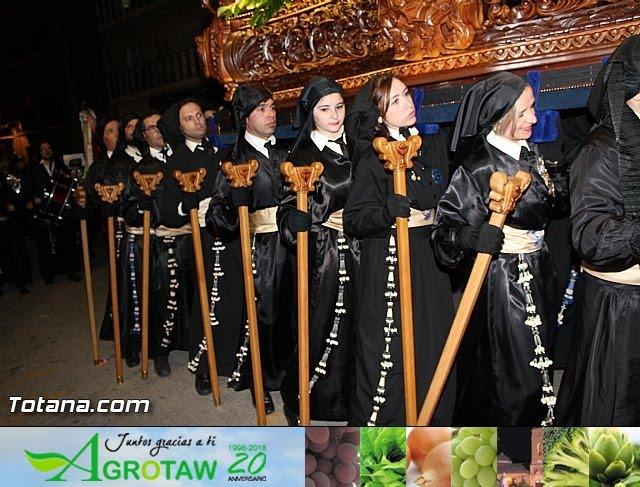 Procesión del Santo Entierro  - Viernes Santo - Semana Santa Totana 2016 - 709