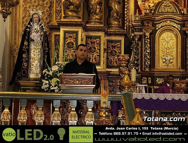 Triduo en honor a Nuestra Señora de los Dolores (I) - 2013 - 2