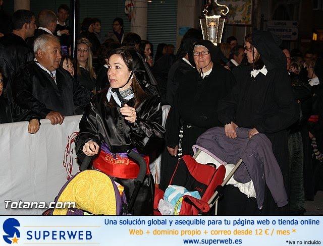 Procesión del Santo Entierro. Semana Santa de Totana 2012 - 13
