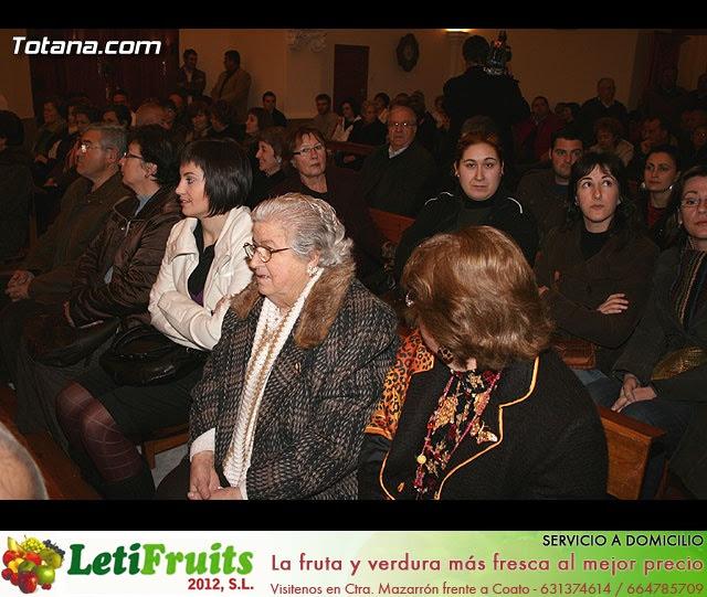 ACTO OFICIAL DE PRESENTACIÓN DEL CARTEL DE LA SEMANA SANTA´2008 QUE ILUSTRA UNA BELLA IMAGEN DE LA SANTÍSIMA VIRGEN DE LA ESPERANZA    - 20