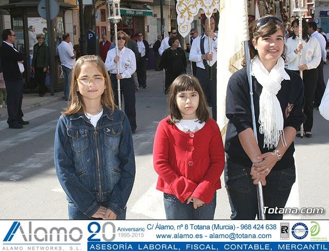 JUEVES SANTO - TRASLADO DE LOS TRONOS A LA PARROQUIA DE SANTIAGO  - 2009 - 5