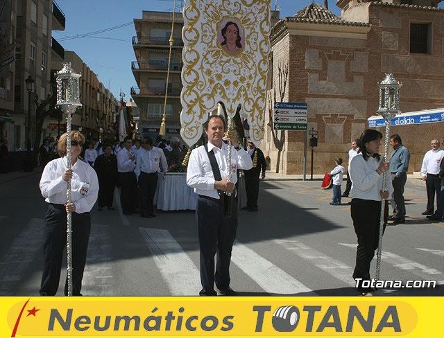 JUEVES SANTO - TRASLADO DE LOS TRONOS A LA PARROQUIA DE SANTIAGO  - 2009 - 6