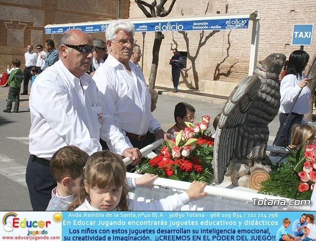JUEVES SANTO - TRASLADO DE LOS TRONOS A LA PARROQUIA DE SANTIAGO  - 2009 - 13