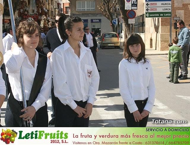 JUEVES SANTO - TRASLADO DE LOS TRONOS A LA PARROQUIA DE SANTIAGO  - 2009 - 15