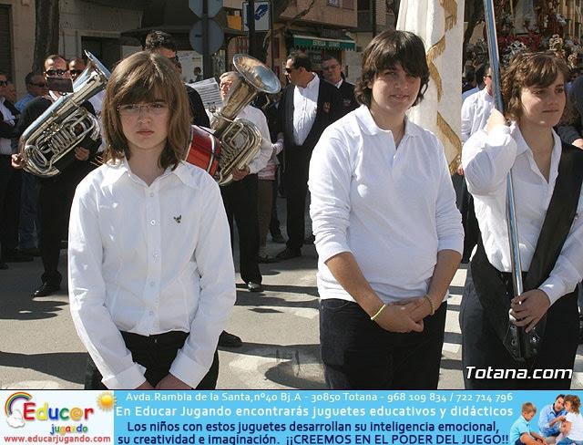 JUEVES SANTO - TRASLADO DE LOS TRONOS A LA PARROQUIA DE SANTIAGO  - 2009 - 16
