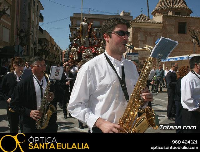JUEVES SANTO - TRASLADO DE LOS TRONOS A LA PARROQUIA DE SANTIAGO  - 2009 - 26