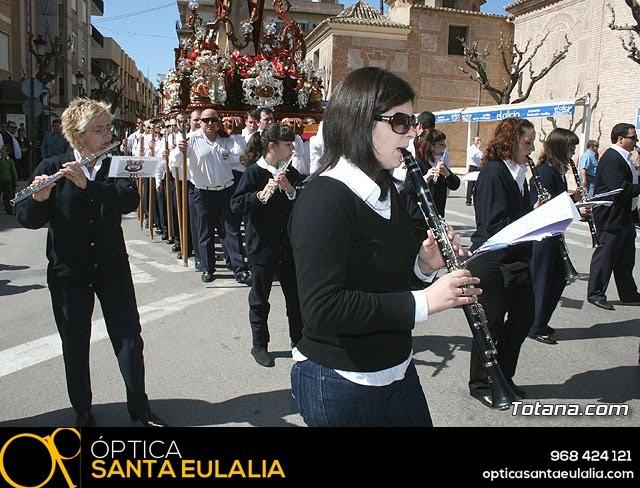 JUEVES SANTO - TRASLADO DE LOS TRONOS A LA PARROQUIA DE SANTIAGO  - 2009 - 33