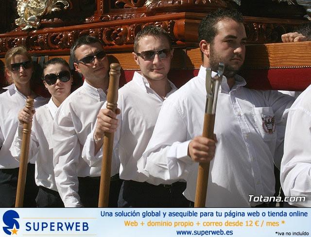 JUEVES SANTO - TRASLADO DE LOS TRONOS A LA PARROQUIA DE SANTIAGO  - 2009 - 37
