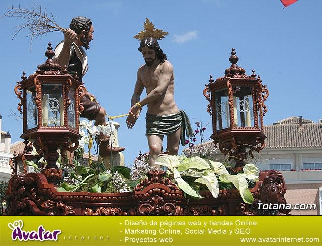 JUEVES SANTO - TRASLADO DE LOS TRONOS A LA PARROQUIA DE SANTIAGO  - 2009 - 772