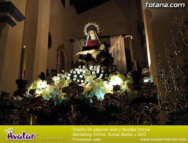 Procesión del Santo Entierro. Viernes Santo - Semana Santa Totana 2009 - 16