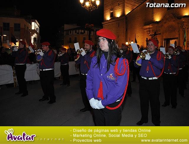 Procesión del Santo Entierro. Viernes Santo - Semana Santa Totana 2009 - 40