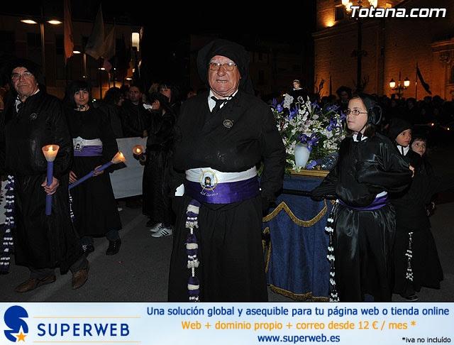 Procesión del Santo Entierro. Viernes Santo - Semana Santa Totana 2009 - 341